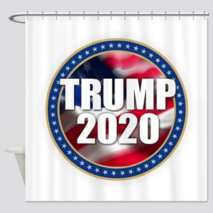 Trump 2020 Shower Curtain