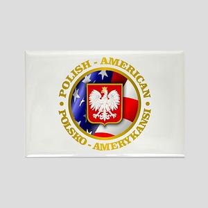Polish American Magnets