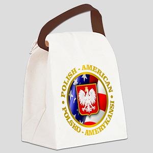 Polish American Canvas Lunch Bag
