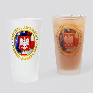 Polish American Drinking Glass