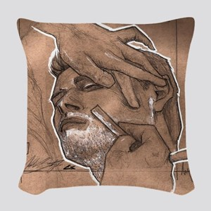 Shave Therapy Woven Throw Pillow
