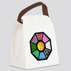 Painted Ba-Gua Canvas Lunch Bag