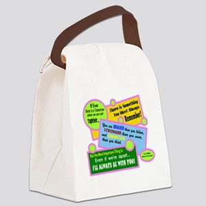 always Be With You-A. A. Milne Canvas Lunch Bag