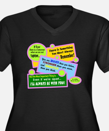 always Be With You-A. A. Milne Plus Size T-Shirt