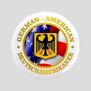 "German-American 3.5"" Button"