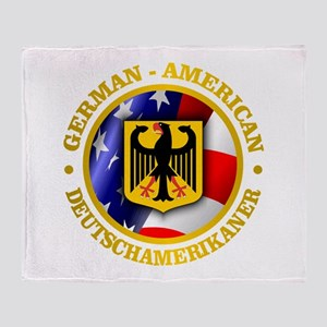German-American Throw Blanket