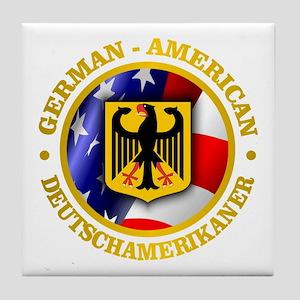 German-American Tile Coaster