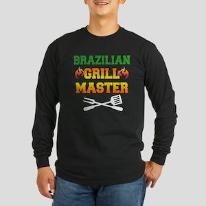 Brazilian Grill Master Apron Long Sleeve T-Shirt