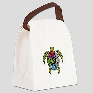 Turtle Ba-Gua Canvas Lunch Bag