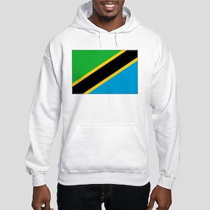 Tanzania Flag Hooded Sweatshirt