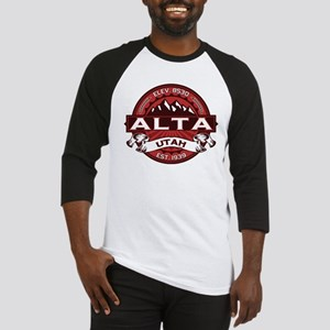 Alta Red Baseball Jersey