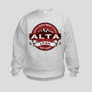 Alta Red Kids Sweatshirt