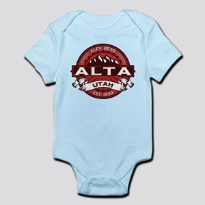 Alta Red Infant Bodysuit