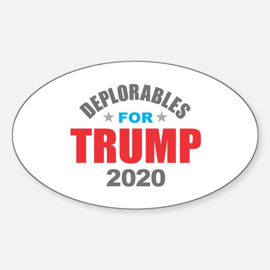 Deplorables for Trump 2020 Decal