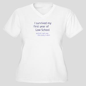 I Survived 1L Plus Size T-Shirt