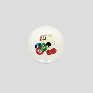 Gambling Mini Button
