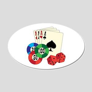 Gambling Wall Decal