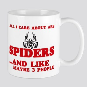 All I care about are Spiders Mugs