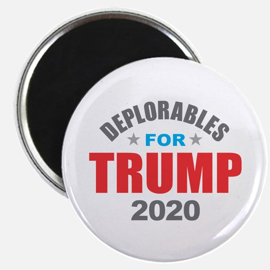 Deplorables for Trump 2020 Magnets