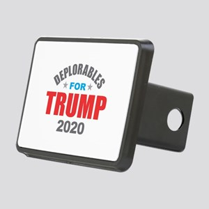 Deplorables for Trump 2020 Rectangular Hitch Cover