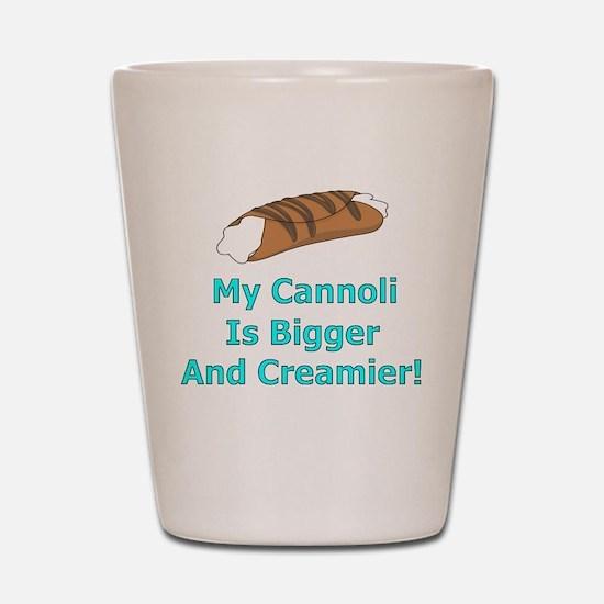 My Cannoli Shot Glass