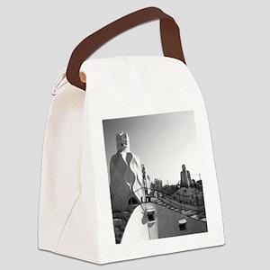 La Pedrera Canvas Lunch Bag