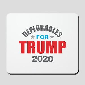 Deplorables for Trump 2020 Mousepad