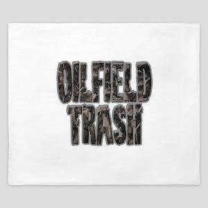Oilfield Trash Riveted Metal King Duvet