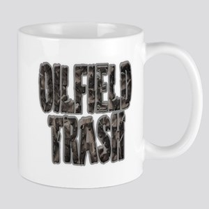 Oilfield Trash Riveted Metal Mugs