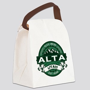 Alta Forest Canvas Lunch Bag