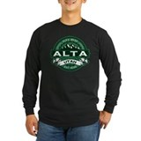 Alta ski resort Long Sleeve Dark T-Shirts