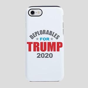 Deplorables for Trump 2020 iPhone 7 Tough Case