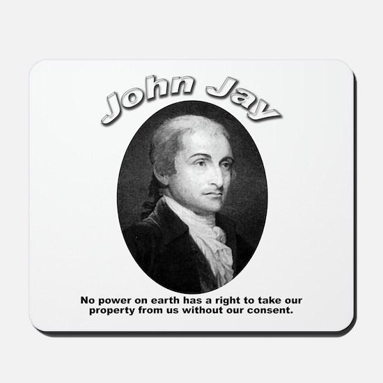 John Jay 01 Mousepad