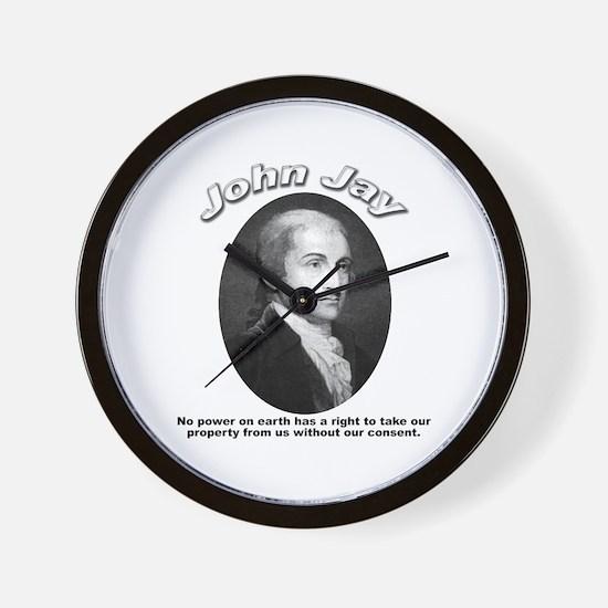 John Jay 01 Wall Clock