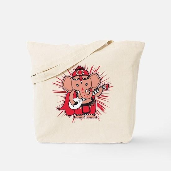 Baby Ganesha Tote Bag