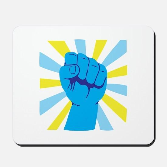 Fist Pump Mousepad
