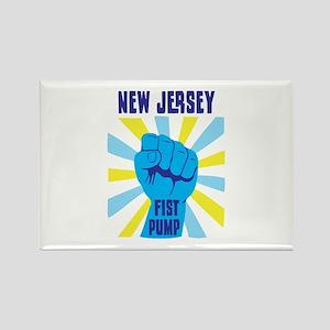 NEW JERSEY FIST PUMP Magnets