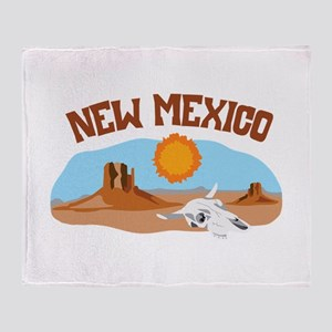 NEW MEXICO Throw Blanket