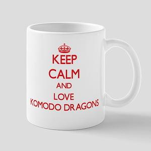 Keep calm and love Komodo Dragons Mugs