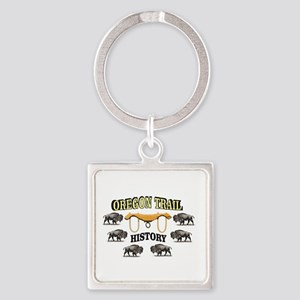 history in the oregon trail Keychains