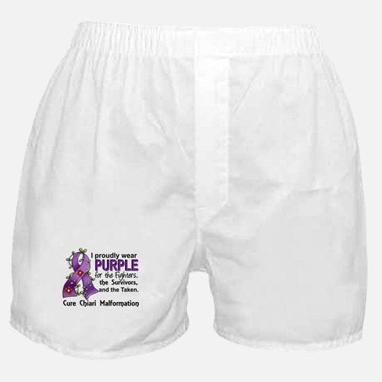For Fighters Survivors Taken Chiari Boxer Shorts