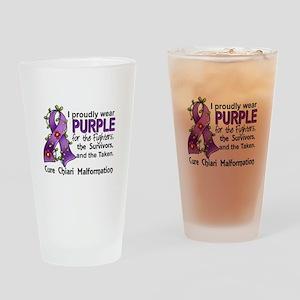 For Fighters Survivors Taken Chiari Drinking Glass