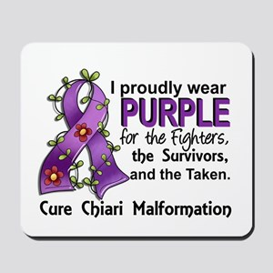 For Fighters Survivors Taken Chiari Mousepad