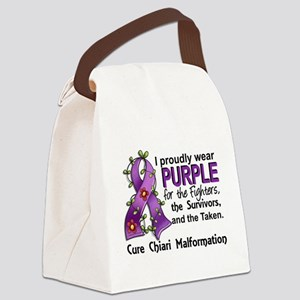 For Fighters Survivors Taken Chia Canvas Lunch Bag
