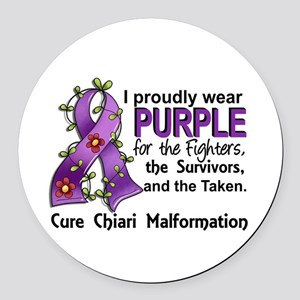 For Fighters Survivors Taken Chia Round Car Magnet