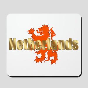 Netherlands Orange Lion Mousepad