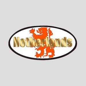 Netherlands Orange Lion Patches