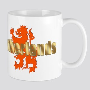 Netherlands Orange Lion Mug