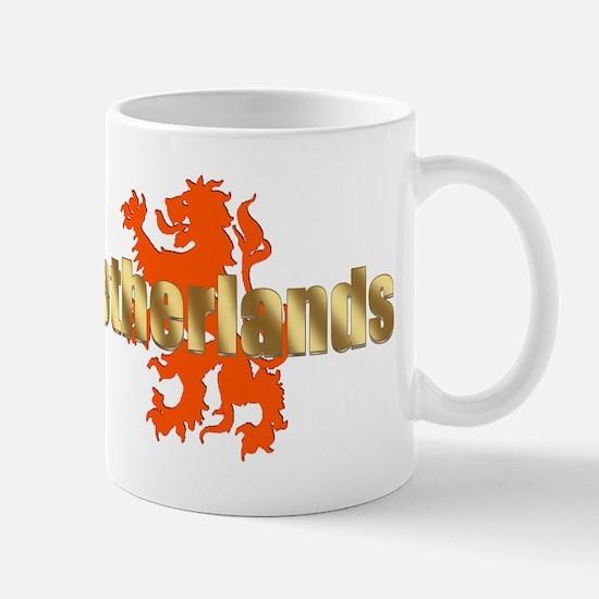Netherlands Orange Lion Mug