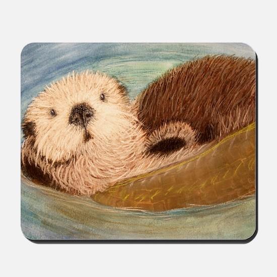 Sea Otter--Endangered Species Mousepad